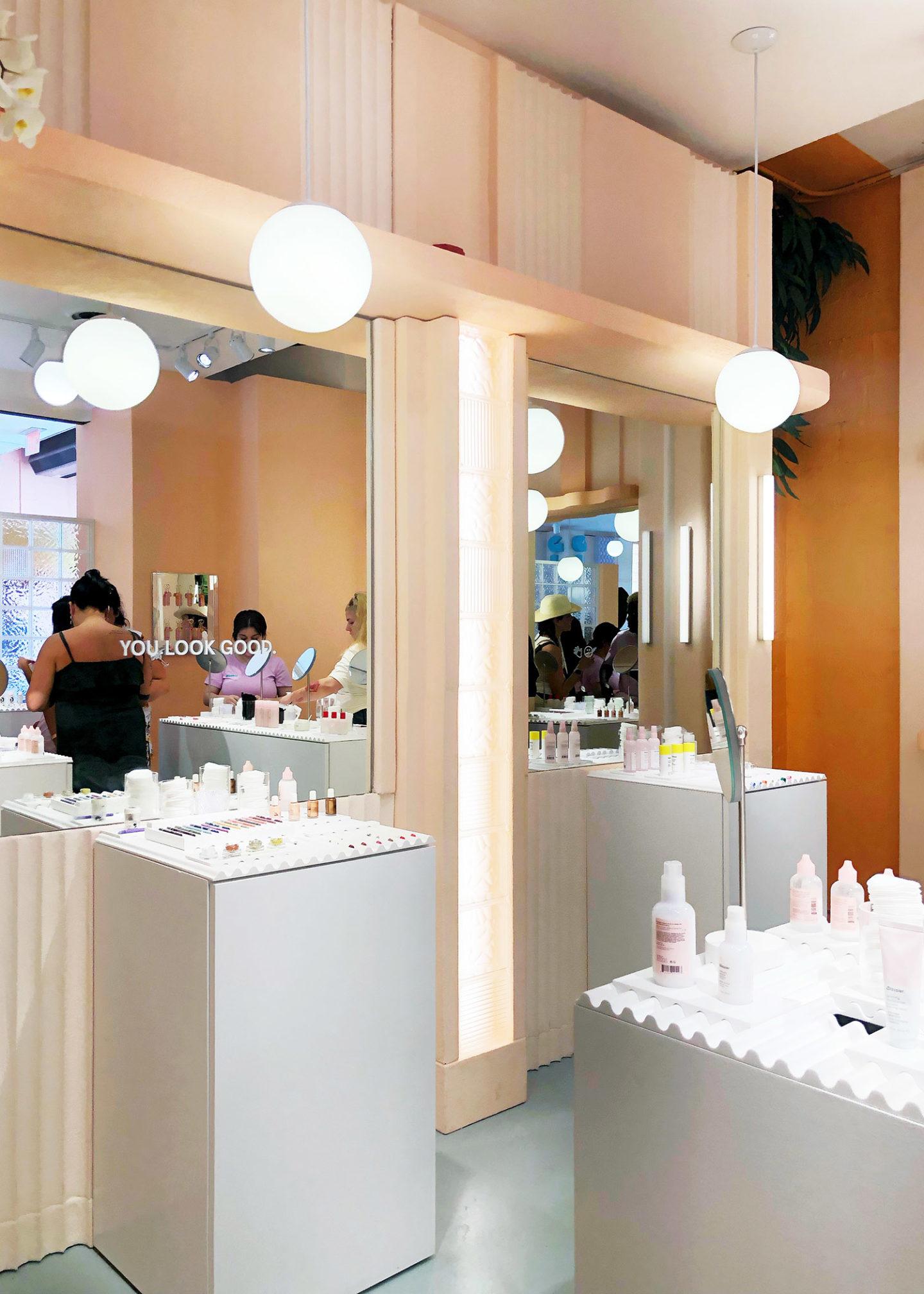 Glossier Miami via The Beauty Look Book