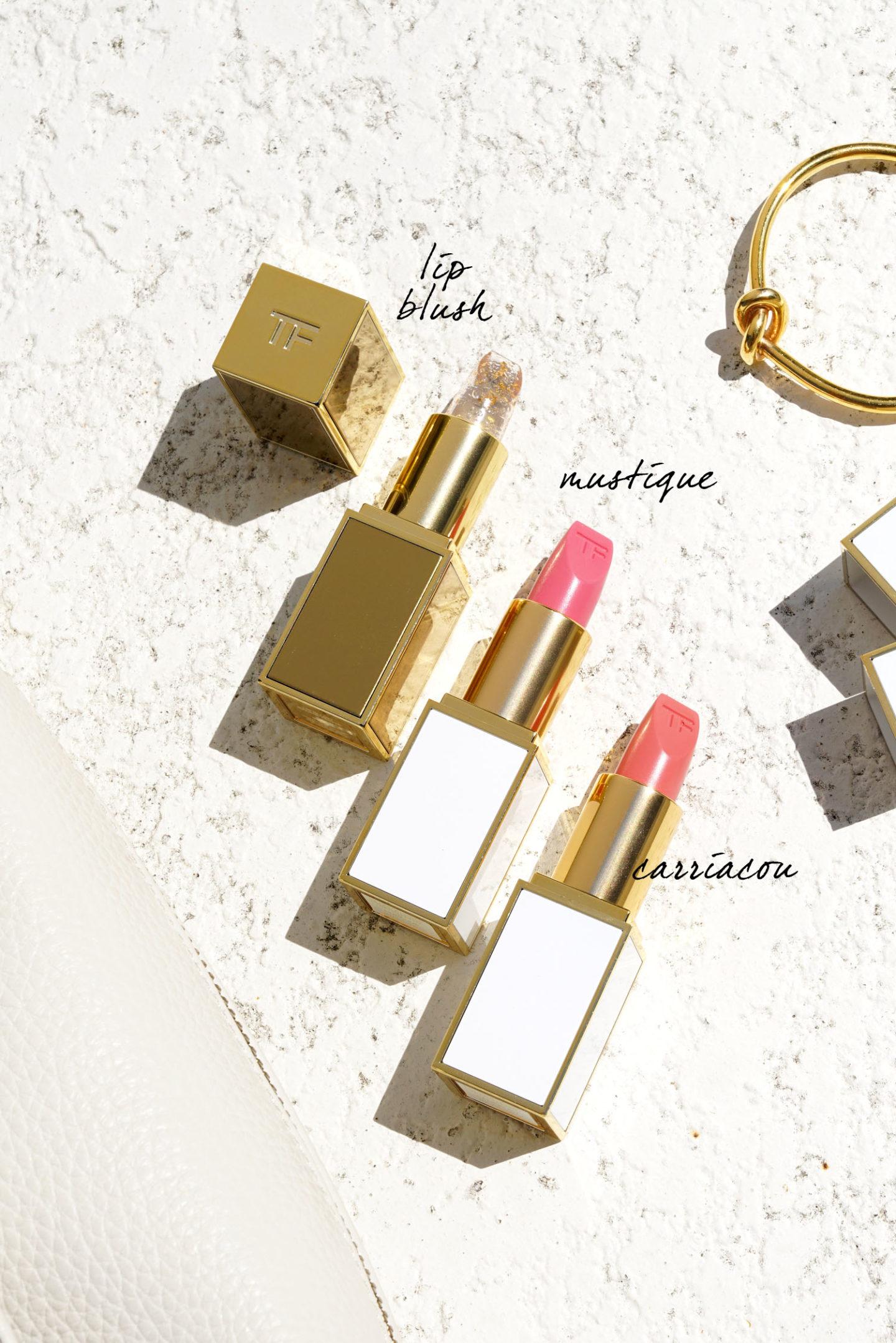 Tom Ford Soleil Lip Blush, Couleur des lèvres pure en Mustique et Carriacou