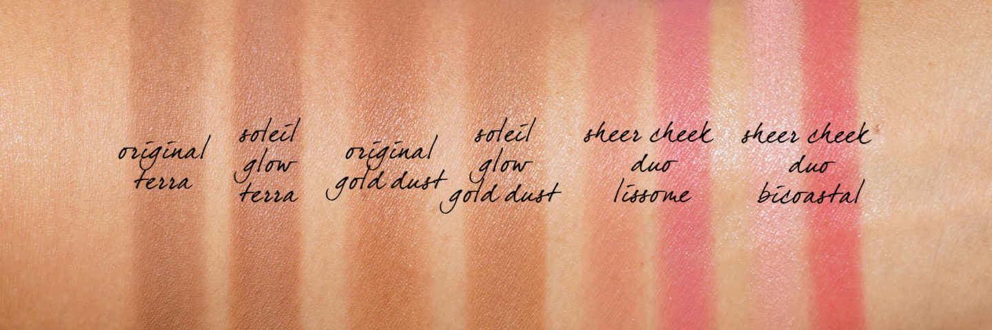 Tom Ford Bronzer comparaisons swatch original vs soleil glow