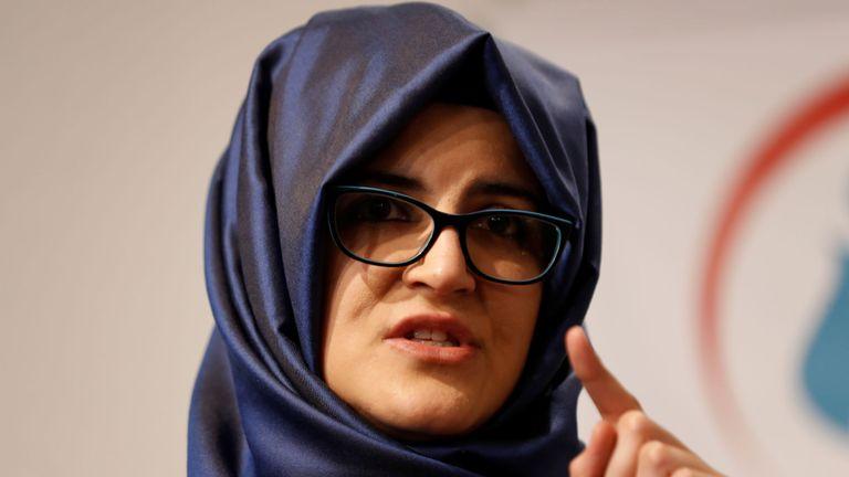 Hatice Cengiz, la fiancée de Jamal Khashoggi