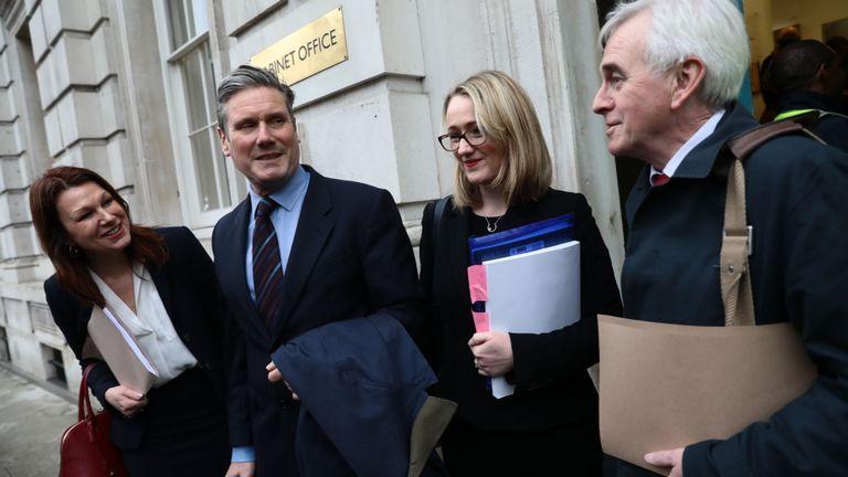 Les ministres fantômes se préparent à rencontrer le gouvernement pour des discussions sur le Brexit