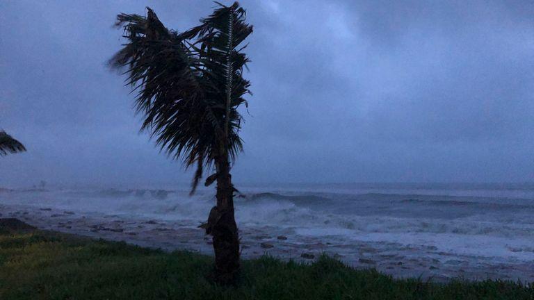 Le cyclone Kenneth a touché terre au Mozambique