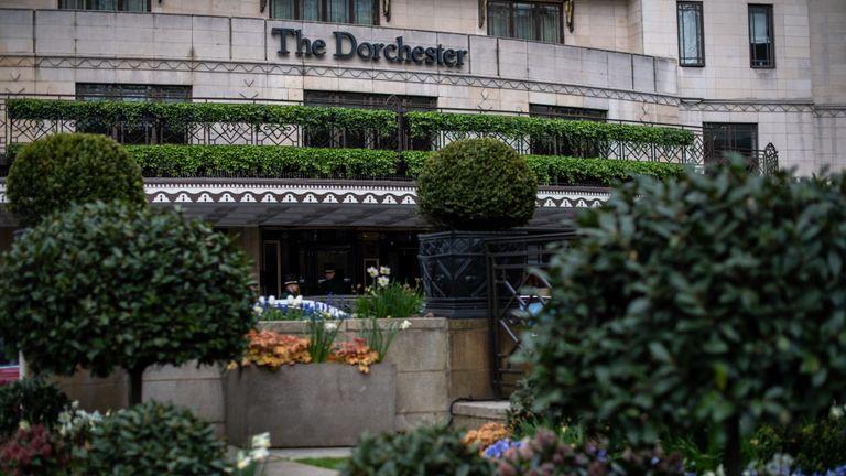 Le Dorchester est l'un des hôtels que les célébrités exhortent les gens à boycotter