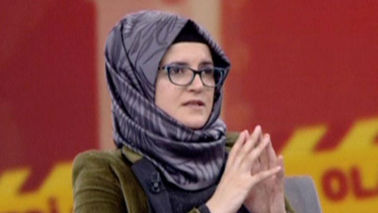 Hatice Cengiz, la fiancée de Jamal Khashoggi, a donné sa première interview télévisée