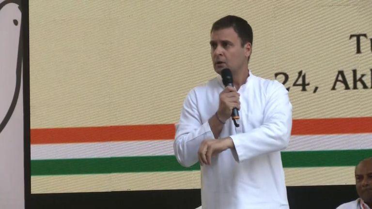 Rahul Gandhi, chef du parti du Congrès indien