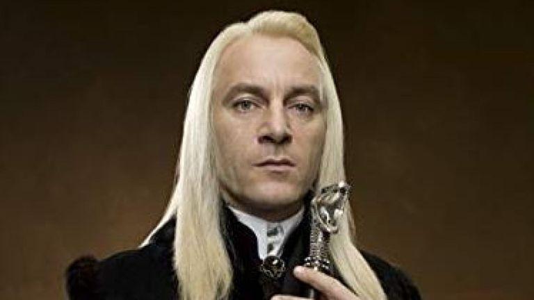 Jason Isaacs dans le rôle de Lucius Malfoy dans Harry Potter