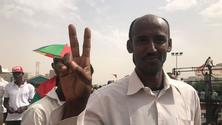 Khartoum Mill Man Manifestation 3