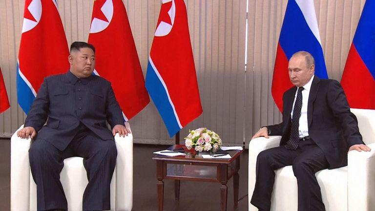 """Kim a déclaré qu'il espérait que le voyage serait """"réussi et utile""""."""