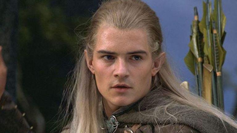 Orlando Bloom comme Legolas dans Le Seigneur des Anneaux