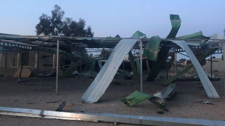Une école primaire a été détruite