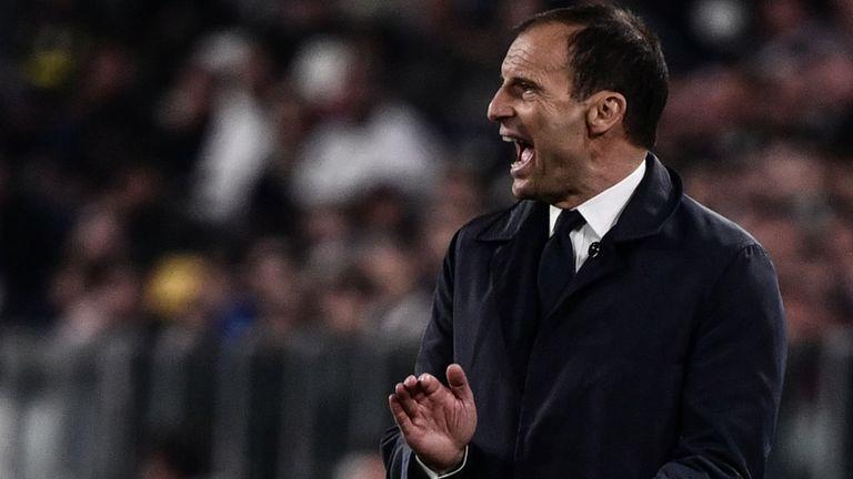Le manager Massimiliano Allegri a également critiqué la décision de son joueur de fêter son but.