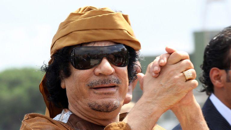 Mouammar Kadhafi a été renversé en 2011