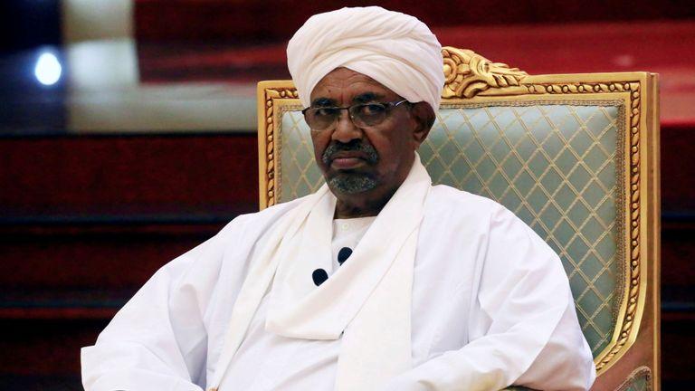 L'ancien président soudanais Omar al Bashir