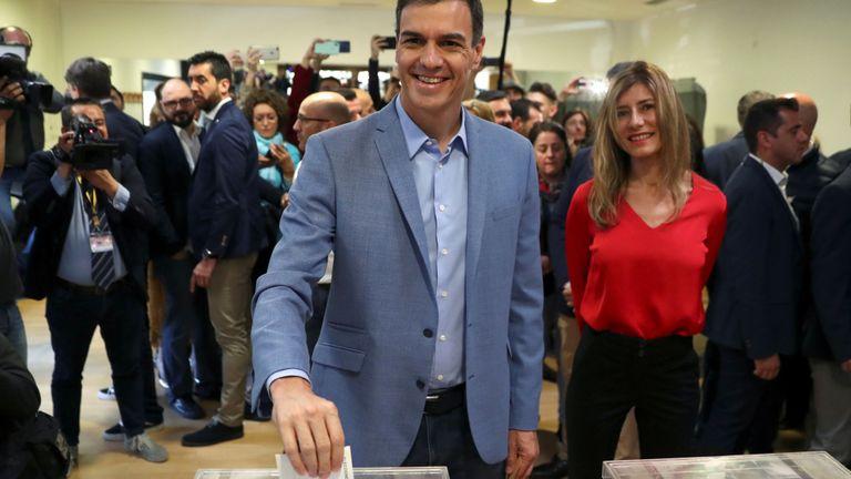 Pedro Sánchez a appelé au vote après le rejet de son budget.
