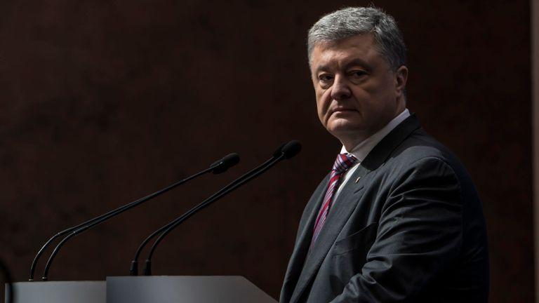 Le président ukrainien en exercice, Petro Porochenko