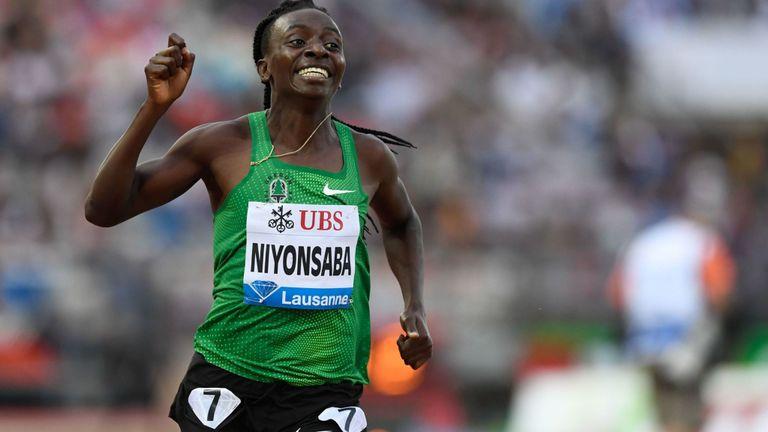 Francine Niyonsaba est la plus grande rivale de Semenya - et a les mêmes conditions