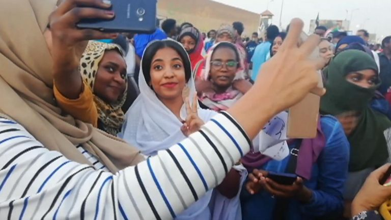 Soudan manifestant