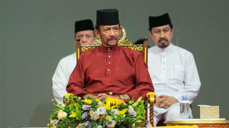 Le sultan de Brunei, Hassanal Bolkiah