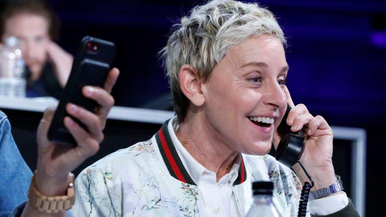 Ellen DeGeneres s'est prononcée contre le sultan