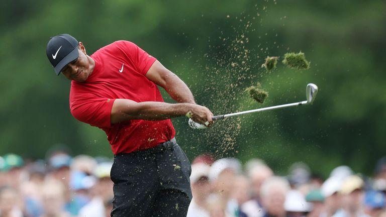 Tiger Woods chez les Maîtres
