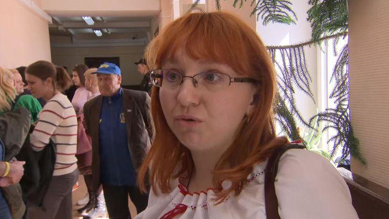 Le frère de Tatiana Schevchenko est l'un des marins