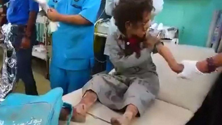 Des dizaines de personnes, dont de nombreux enfants, ont été tuées lors d'une frappe aérienne menée par la coalition saoudienne dans le nord du Yémen sous contrôle des rebelles.