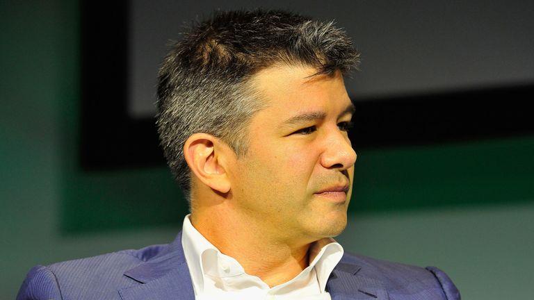"""Selon Uber, la famille de Travis Kalanick a subi une """"tragédie sans nom""""."""