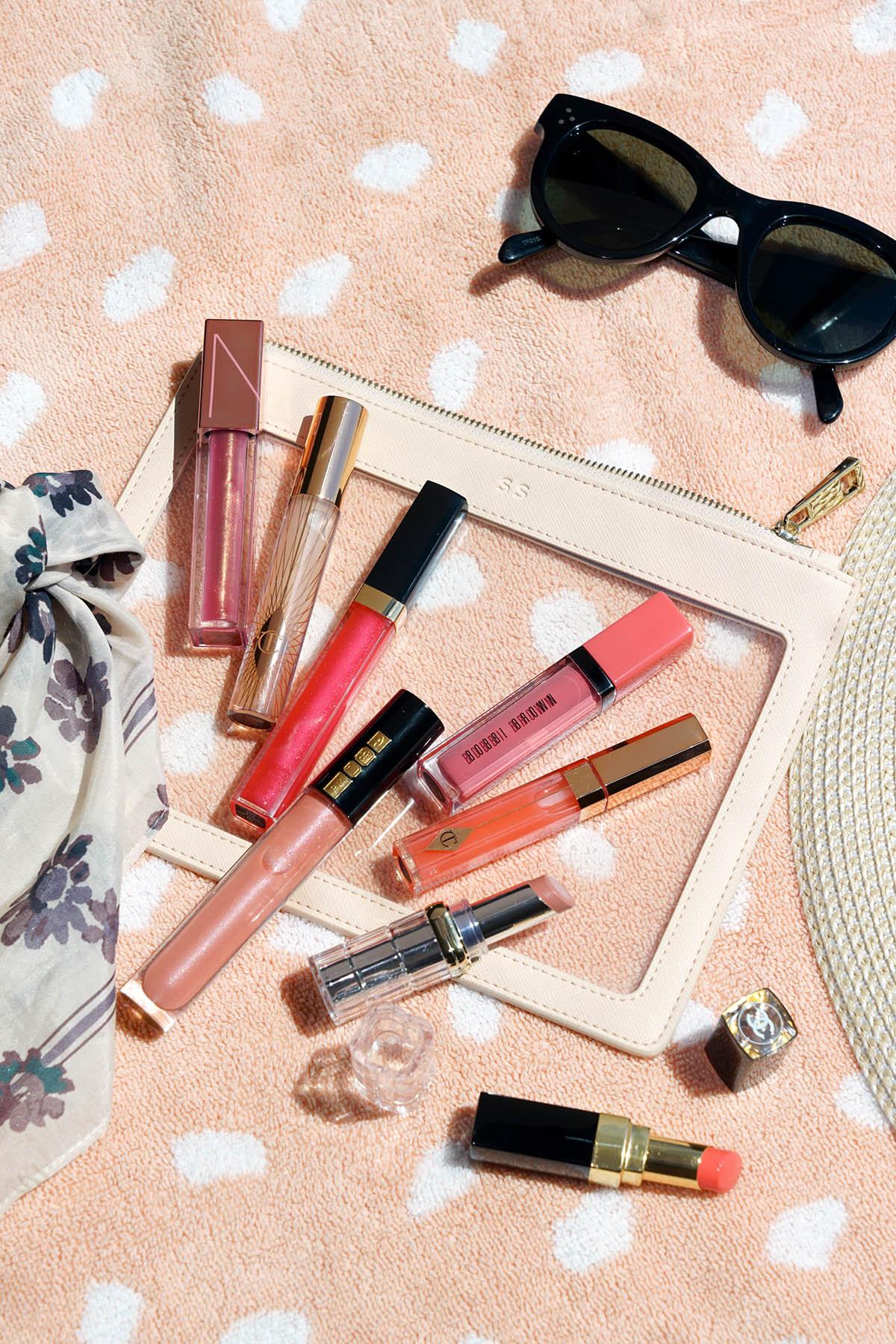 Meilleures couleurs de gloss pour l'été | Le look book beauté