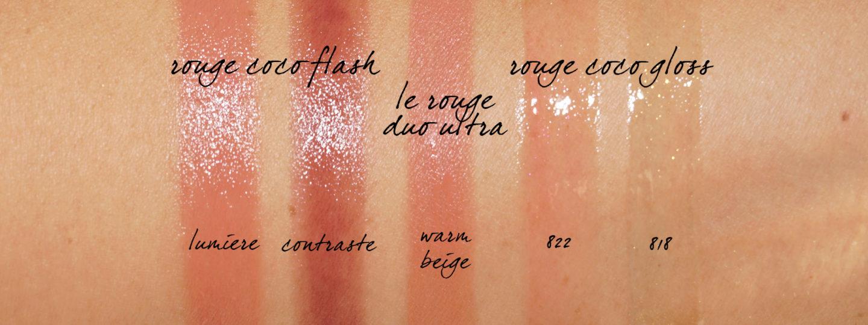 Chanel Cruise 2019 Beauty Lips Rouge Échantillons Flash et Gloss Coco | Le look book beauté