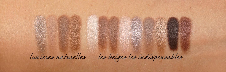 Chanel Lumieres Naturelles vs Les Beiges Les Indispensables