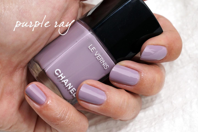 Chanel Cruise 2019 Beauté Le Vernis Purple Ray | Le look book beauté
