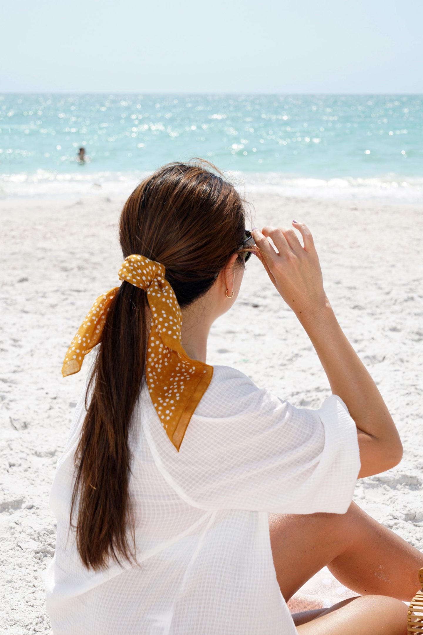 Bandana foulard Madewell | Le look book beauté