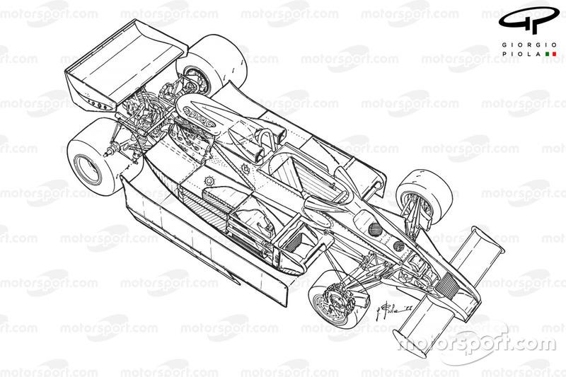 Lotus 78 aperçu détaillé
