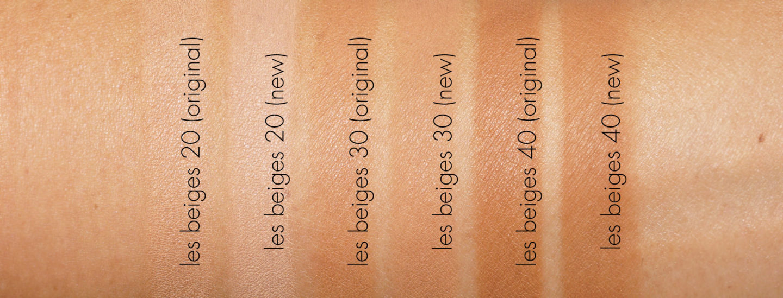 Échantillons de poudre Chanel Les Beiges Healthy Glow