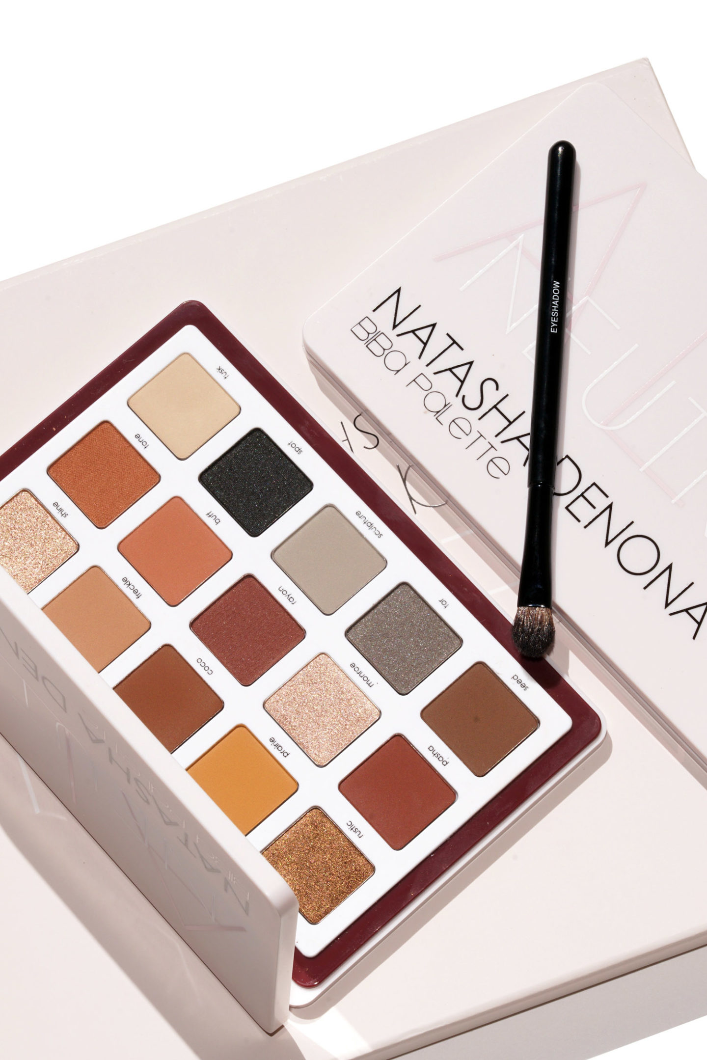 Revue de la palette de paupières Eyeshadow de Natasha Denona Biba et du nuancier via The Beauty Look Book