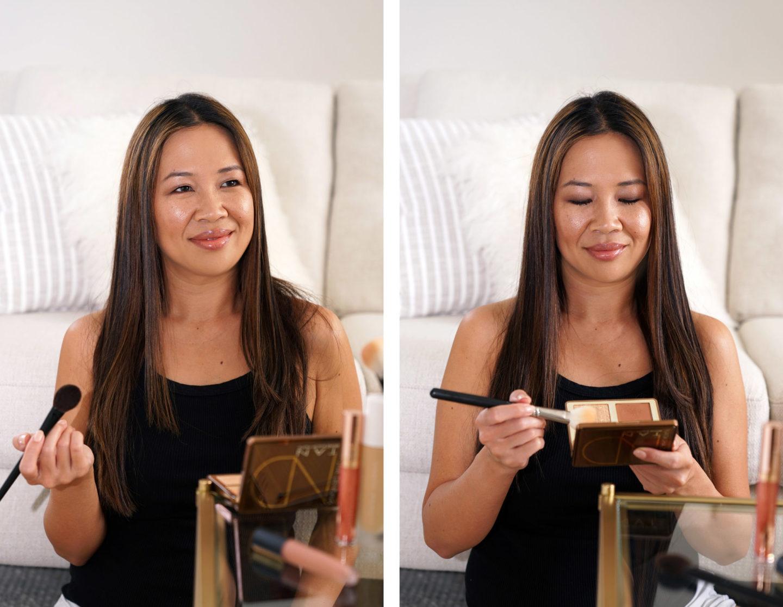 Natasha Denona Tan Look de maquillage bronze et éclat