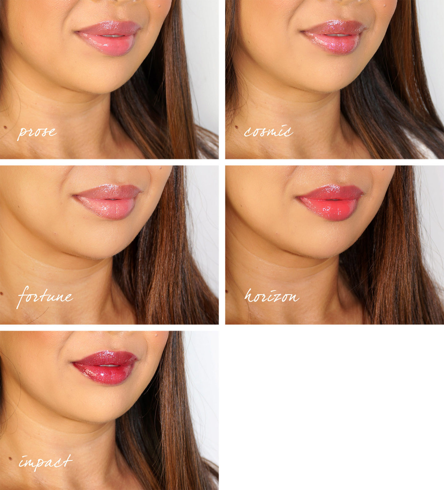 Sablier Unreal Lip Gloss Swatches
