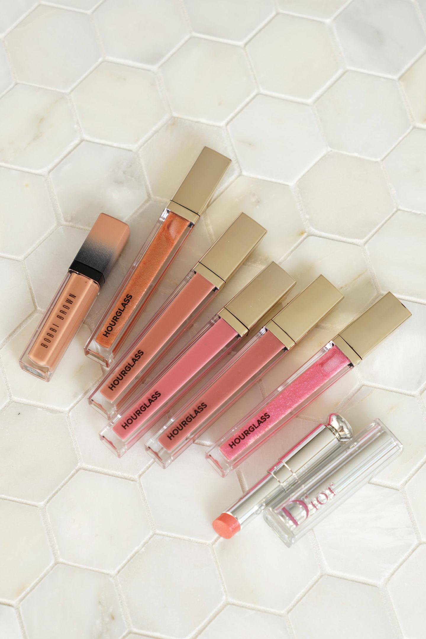 Sablier Unreal Lipgloss, Lèvre Liquide Écrasée Bobbi Brown et Dior Stellar Shine
