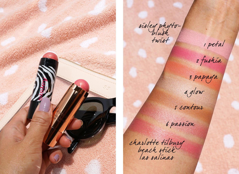 Meilleur Cream Blush Sisley et Charlotte Tilbury | Le look book beauté