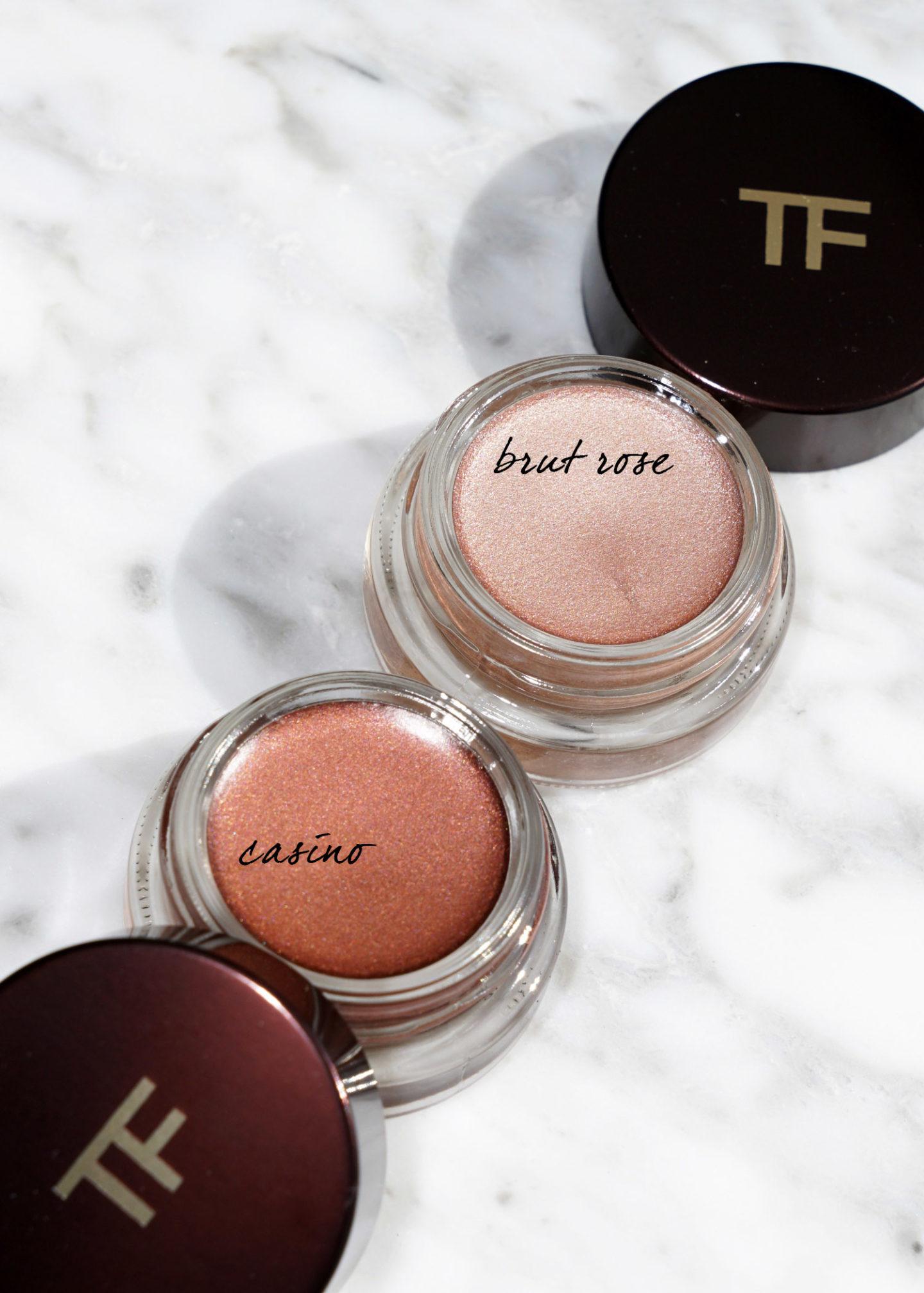 Tom Ford Emotionproof Eye Colors Brut Rose et Casino | Le look book beauté