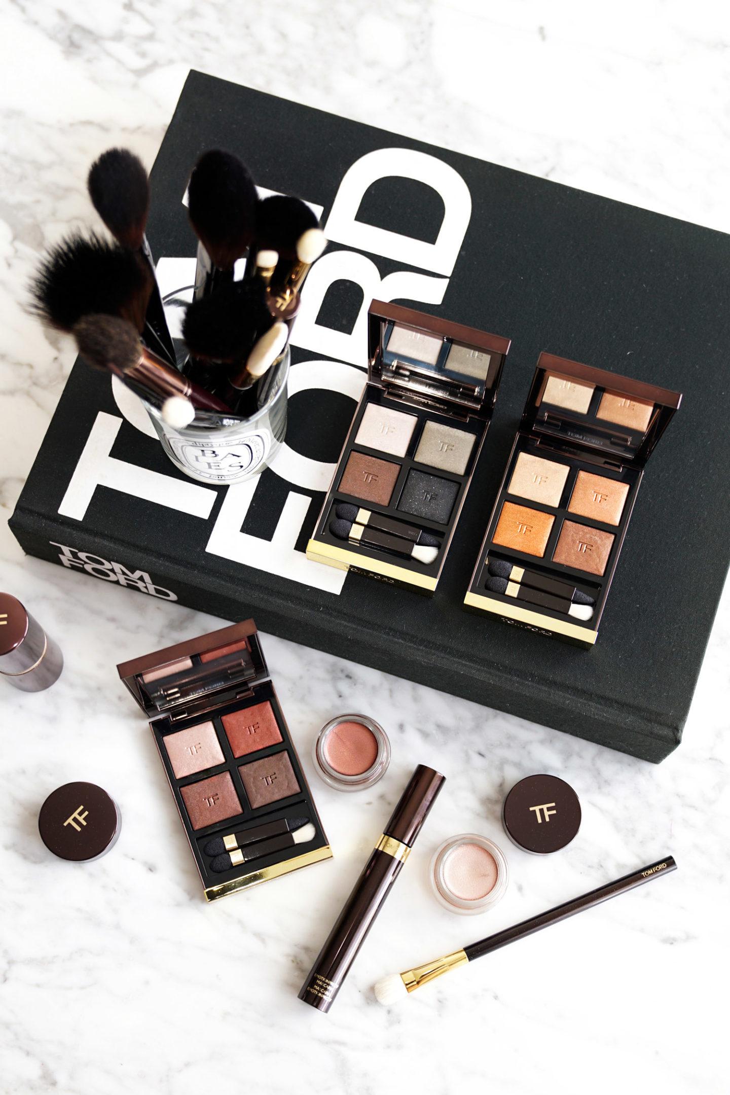 Tom Ford Quad Eye Color Chaleur corporelle, soupçon, double indemnité | Le look book beauté