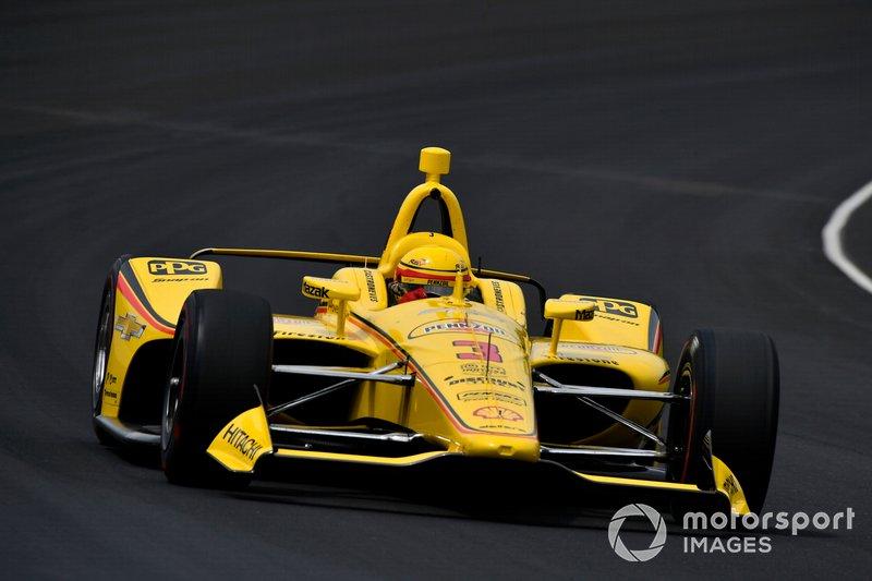 12. Helio Castroneves, équipe Penske Chevrolet