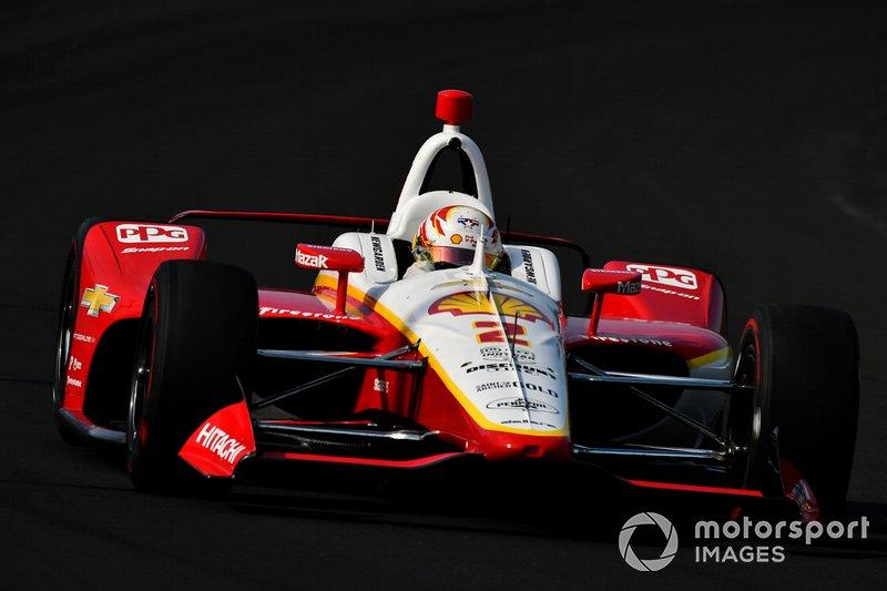8. Josef Newgarden, Team Penske Chevrolet