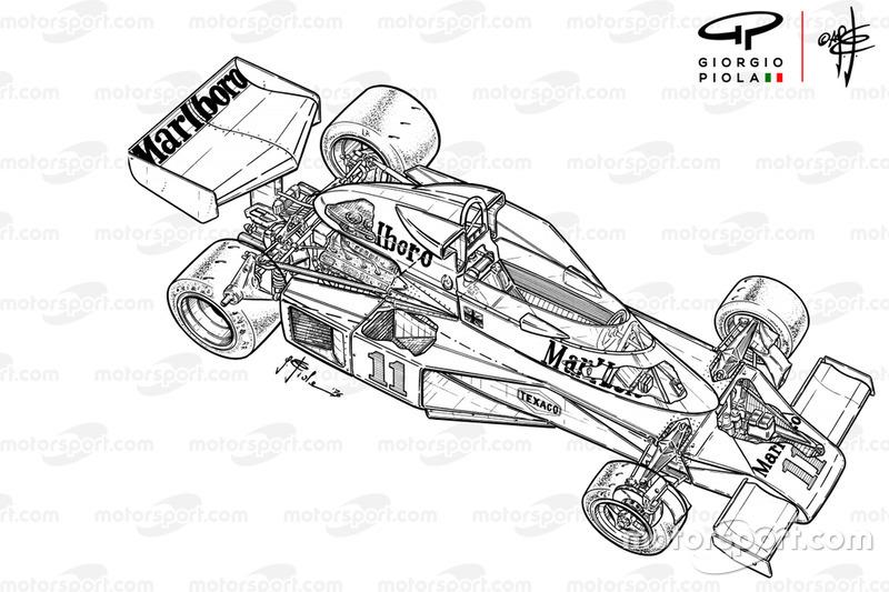 McLaren M23B aperçu détaillé