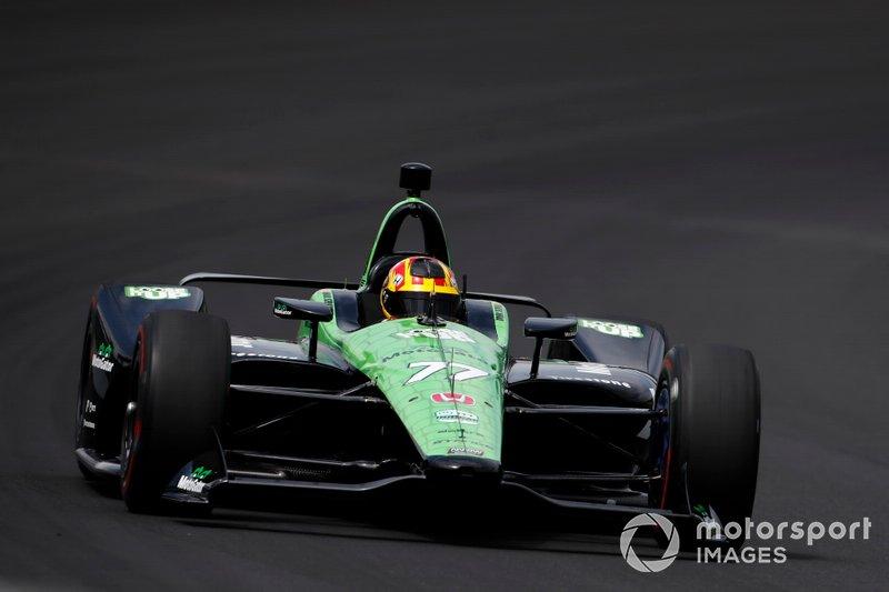 19. Oriol Servia, Team Stange Racing avec Arrow SPM Honda