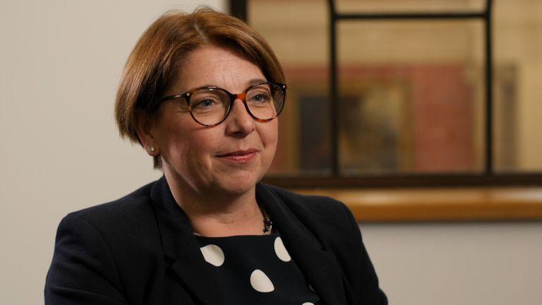 Sarah Breeden, directrice exécutive de la Banque d'Angleterre pour la supervision des banques internationales