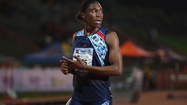 Semenya est deux fois champion olympique du 800m