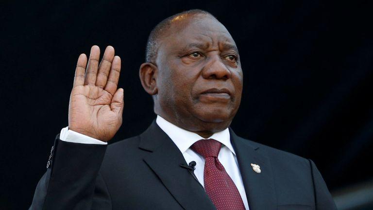 Cyril Ramaphosa prête serment