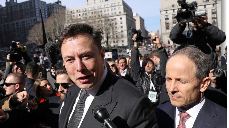Elon Musk a comparu devant un tribunal fédéral à New York le mois dernier