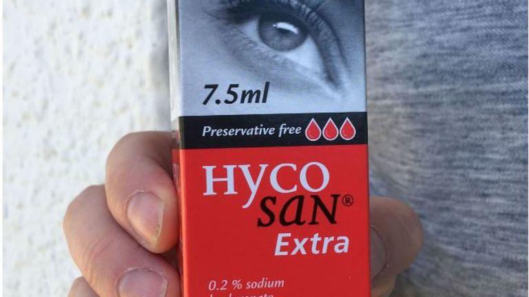 Les gouttes pour les yeux sont au prix de £ 9,95